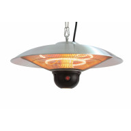 Hanging Infrared Electric Outdoor Heater With Led & Remote