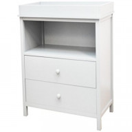 Amber Changing Table White