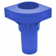 Replacement Cot Leg In Blue