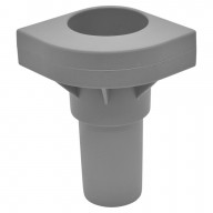 Replacement Cot Leg In Gray