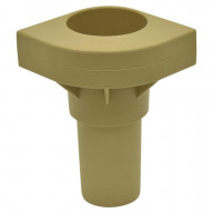 Replacement Cot Leg In Tan