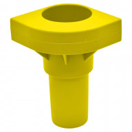 Replacement Cot Leg In Yellow