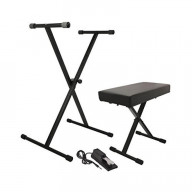 Keyboard Stand/Bench Pak With Ksp100 Sustain Pedal