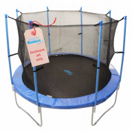 Trampoline Enclosure Set, To Fit 14 Ft. Round Frames, For 4 Or 8 W-Shaped Legs -Set Includes: Net, Poles & Hardware Only