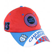 Jr. Champion Racing Cap (Red & Blue), Adj Youth Size