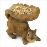 Squirrel's Tail Bird Feeder