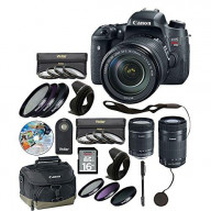 T6I Camera 18-135mm with 14 Piece Accessory Kit - xtra lens 8546B002