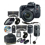 T6I Camera 18-135mm with 14 Piece Accessory Kit - xtra lens 6473A003