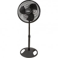 16 In. Oscillating Stand Fan -Black