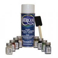 Testor's Touch Up Paint Kit (Includes Americana Sealer and brush)