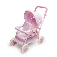 Double Front-to-Back Doll Stroller