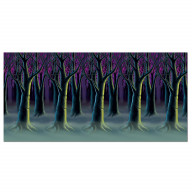 Spooky Forest Trees Backdrop (Pack Of 6)