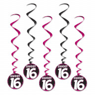 Sweet 16 Whirls (Pack Of 6)