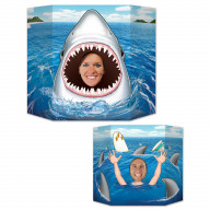Shark Photo Prop (Pack Of 6)