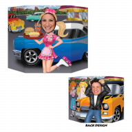 Car Hop/Greaser Photo Prop (Pack Of 6)
