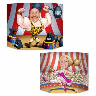 Circus Couple Photo Prop (Pack Of 6)