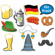 Oktoberfest Photo Fun Signs (Pack Of 12)