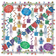 New Year Decorating Kit - 27 Pcs (Pack Of 1)