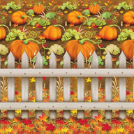 Pumpkin Patch Backdrop (Pack Of 6)