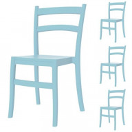 Tiffany Dining Chair Light Blue