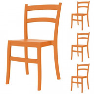 Tiffany Dining Chair Orange