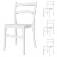 Tiffany Dining Chair White