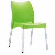 Vita Resin Outdoor Dining Chair Apple Green