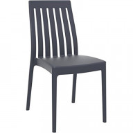 Soho Dining Chair Dark Gray