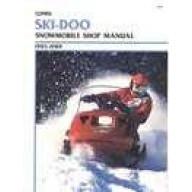 Clymer Ski-Doo Snowmobile (1985-1989)