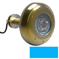 Bluefin LED Stingray S16 Thru-Hull Underwater LED Light - 5600 Lumens - Topaz Blue