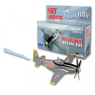 Sky Fighter Flying Toy On A String