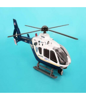 Nypd Helicopter W/LIGHTS & Sounds 1/32