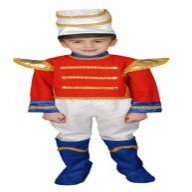 Toy Soldier Set Costume Set - Large 12-14