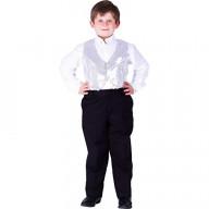 Silver Sequined Vest - Size L (12-14)