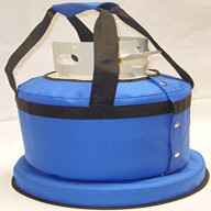 Propane Tank Cover With Handles - Pacific Blue