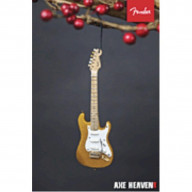 Axe Heaven Holiday Ornament Fender Gold 50S Strat 6