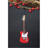 Axe Heaven Holiday Ornament Fender 50S Red Telecaster 6