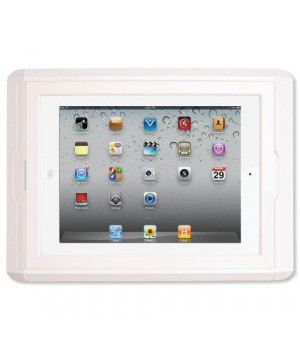 Channel Vision On-Wall Dock for iPad, White