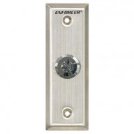 Seco-Larm Enforcer Request-To-Exit Slimline Key Switch Plate