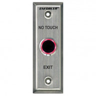 Seco-Larm Enforcer Slimline No Touch Request-to-Exit Plate, Outdoor