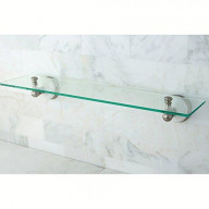 Kingston Brass Victorian Glass Shelf
