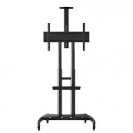 Luxor FP4000 Adjustable Height Large TV Mount designed for a 40