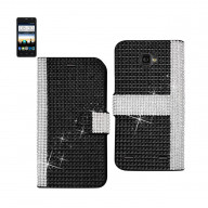 Diamond Flip Case ZTE SONATA 2 BLACK