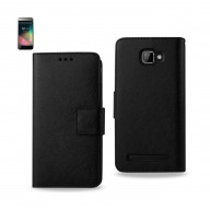 WALLET CASE 3 IN 1 FOR BLU Dash 5.0 D410A BLACK