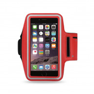 SPORT ARMBAND FOR UNIVERSAL 4.7INCH DEVICES RED