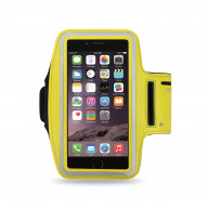 SPORT ARMBAND FOR UNIVERSAL 4.7INCH DEVICES YELLOW