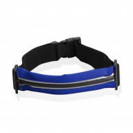 SPORT WAIST BAG WITH REFLECTIVE STRIP-NAVY