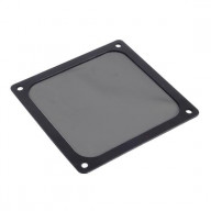 Black, Plastic Ultra Fine Fan Filter with Magnet for 120mm Case Fan, air vent