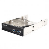 Silver,, USB 3.0 with 3.5 to 2* 2.5 bay converter