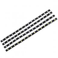 White LED light strip,15 LED grains, total 3.6W LED light strip,30CM